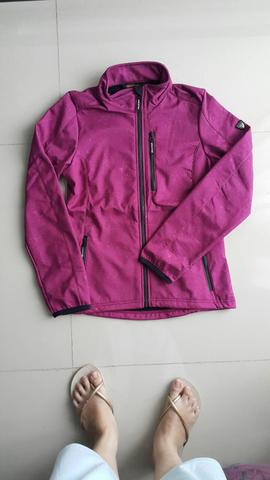 JAKET IGUANA SOFTSHELL AQUATRAIL WATERPROOF PARKA JACKET ORIGINAL 100% MURAH