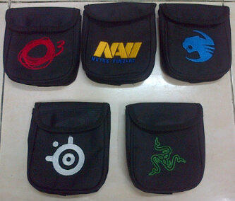 [stary] Acc Razer & Steelseries (SS) (Mouse pouch,Mousepad pouch,Headset pouch)BNIB