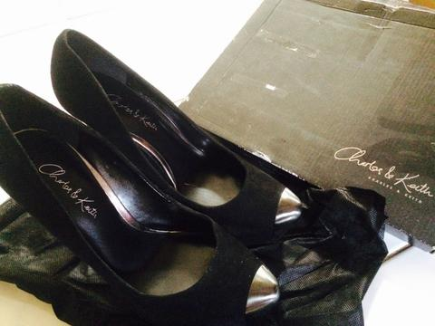 [WTS] High Heels Charles&Keith Original Size 36 Black