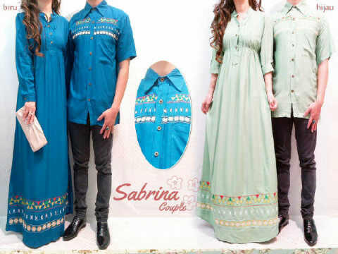 Dress Couple Embroidery Sabrina