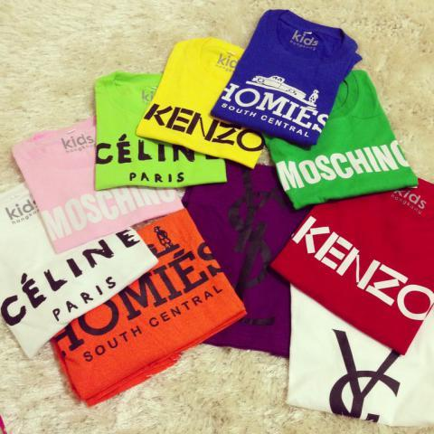 [stary] SUPPLIER BRANDED TEE IMPORT HONGKONG MURAH READY STOCK: HOMIES, BALLIN, KENZO