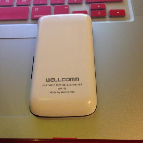 Wellcomm Portable 3G Wireless Router