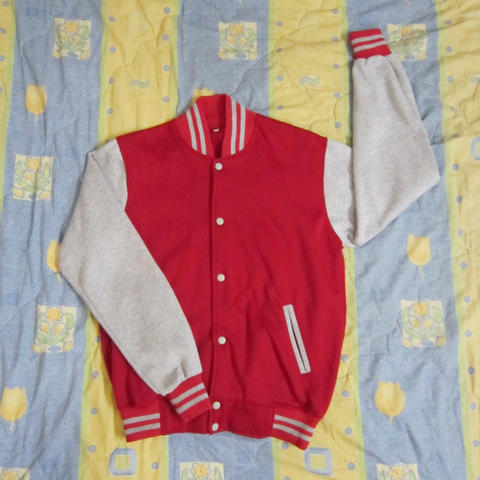 [GARAGE SALE] VARSITY JACKET, GAP BLOUSE, JAPAN IMPORTED CARDIGAN, IMPORTED DRESS