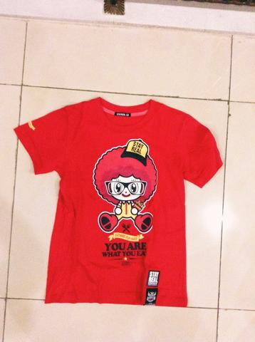 kaos t shirt dari HONGKONG lucu kartun you are what you eat