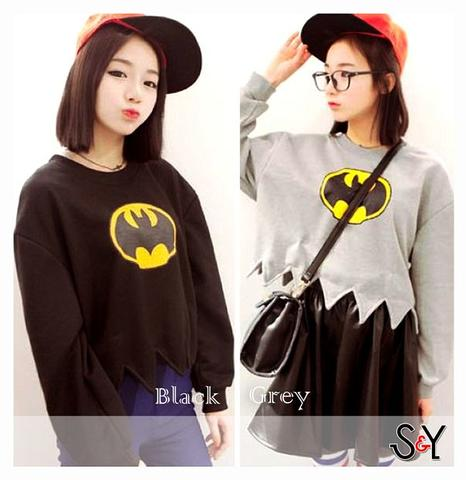 Sweater Batgirl | supplierbajugrosir.com