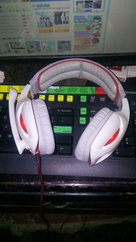 Headset Gaming Sades SA 902 Like New Murah
