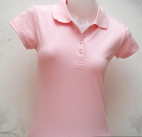 Polo T-Shirt Wanita Cotton Spandek High Quality Product