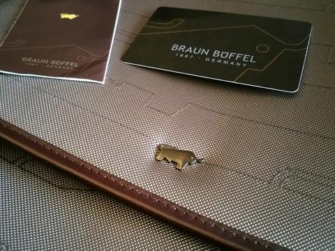 ஜஜஜ- Tas Slempang Braun Buffel Original Slim (Grey/Brown) -ஜஜஜ