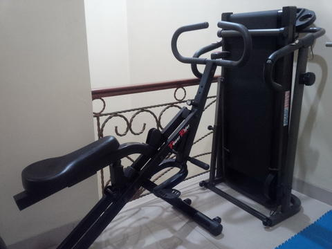 WTS : Aibi Treadmill Manual dan Power Rider (Mint)