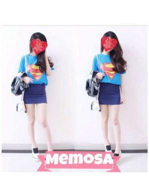 SUPPLIER KAOS WANITA HIGH QLTY TERMURAH | TOP SUPERMAN | supplierbajugrosir.com