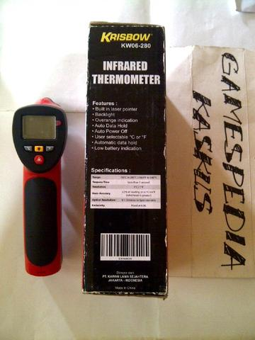 Thermometer Krisbow KW06-280 Infrared Laser No Touch Termometer