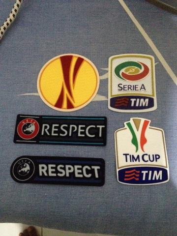 PATCH REMAKE, RESPECT, EUROPA LEAGUE, SERIE A, COPPA ITALY