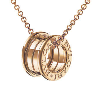 (MIRROR 1:1) BVLGARI BZERO NECKLACE in WHITE GOLD, ROSE GOLD, & COMBINATION..