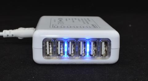 [12] USB Travel Charger 6 Port 7 Ampere ( 1 Charger bisa Rame-rame ! )