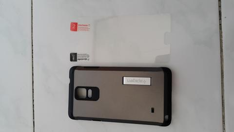 Spigen Tough Armor Casing Note 4 2nd Batangan