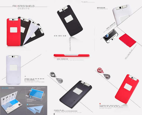 AKSESORIS Oppo Find 7-5-Mini-R1X-R1-N1-R5-N3-Neo K-Mirror 3-Yoyo Flip Hard Soft CASE