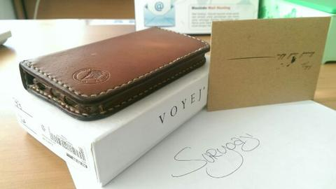 VOYEJ iPHONE 5/5s LEATHER CASE