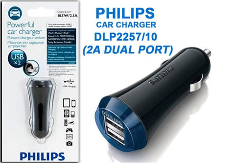 Charger Philips for Car or Wall, Best quality Murah!