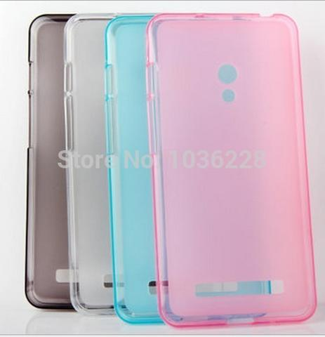Clearance Sale: Softcase Jelly Case Screen Protector Anti Gores Zenfone 5 Murah!