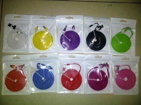 Kabel data 3 Meter 3m bisa Charger / cas, Kabel Data BB/ Android/ iPhone Bandung/bdg