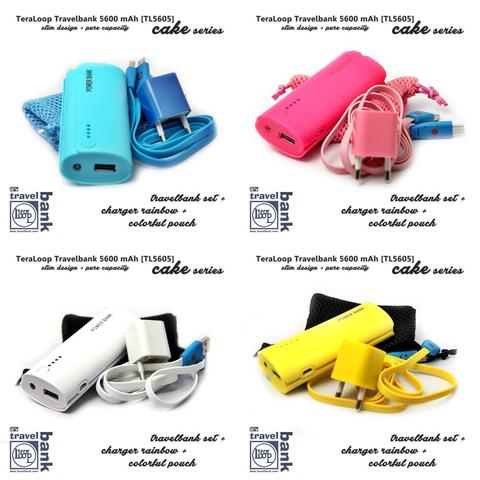Powerbank Teraloop Cake Series 5600mAh