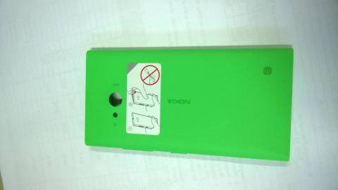hard case dan back door cover housing original nokia lumia 730 hijau/green bandung