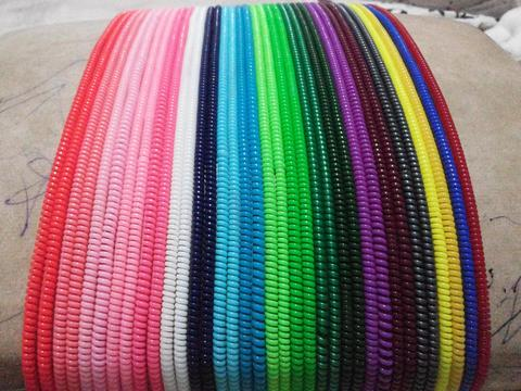 Paket 100pc cord protector solid mix warna murahhh