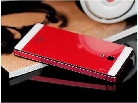 XIAOMI REDMI 1S TEMPERED GLASS BACK CASE, METAL BACK COVER, 3D RHOMBUS, MOCOLO GLASS