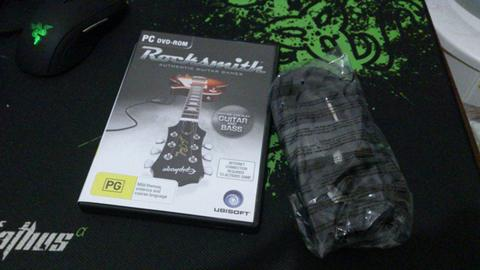 WTS BEST SELLER Game PC ORIGINAL ROCKSMITH 2014 + REAL TONE CABLE (Included!!) +Testi