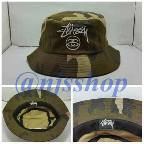 uk availability a18f1 8a899 NJS SHOP – Ready Stock Topi Import Snapback Brixton Stussy Fitted Cap MLB New  Era