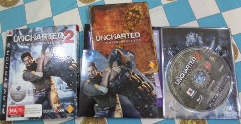 Game PS3 - Uncharted 2 - Among Thieves (Limited Edition)