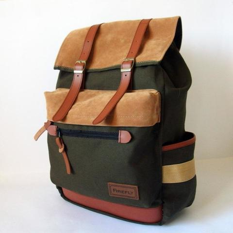 Firefly Bags - High Quality Canvas Bag - Backpack, Rucksack, Sling, Toote Bag