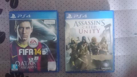 [WTS] BD PS4 Assassin's Creed Unity & FIFA 14