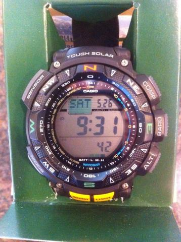 CASIO PATHFINDER PAG 240 - 1CR New Original