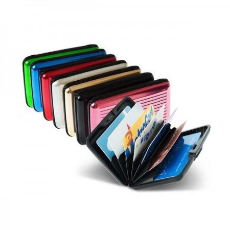 DOMPET ANTI AIR - DOMPET KARTU ALUMUNIUM - CARD CADDY WALLET