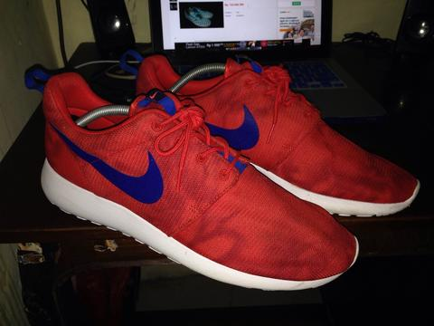 SELL>> Nike Roshe Run Challange Red size 46 Euro 12 US 2nd like new ORIGINAL!!!