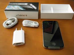 APPLE iPhone 4-16GB Warna Black / White Bandung