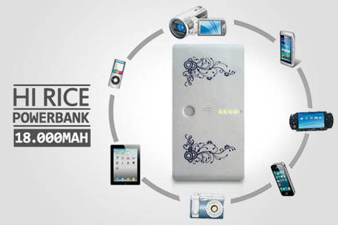 POwerbank Hi-Rice 18000mah