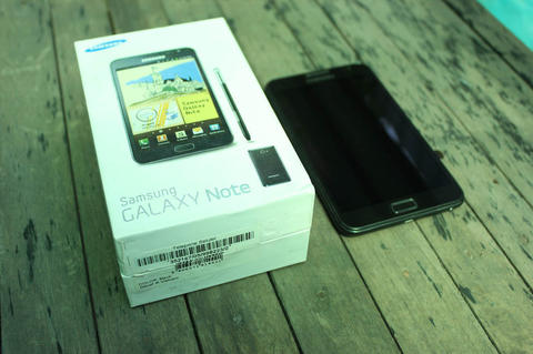 SAMSUNG GALAXY NOTE GT-N7000 BLACK (Note 1)