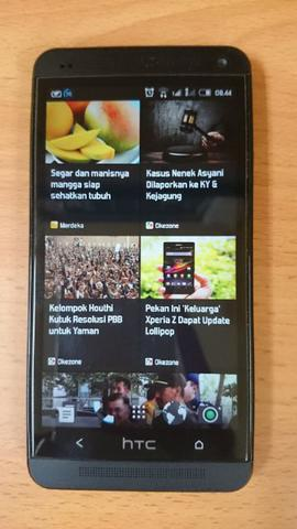 HTC ONE M7 DS (DUAL SIM) RIAU MINT CONDITION