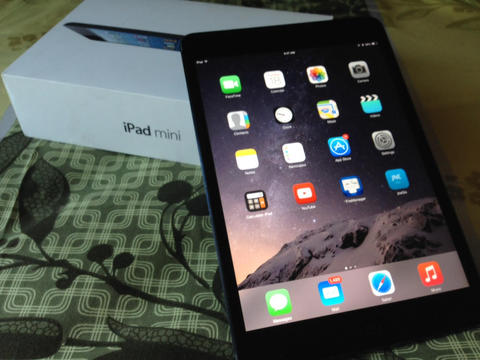 Ipad Mini 1 Wifi 16GB Black, ( bukan tablet samsung, Xperia atau sony )