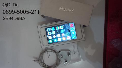 Iphone 5 32GB Silver White