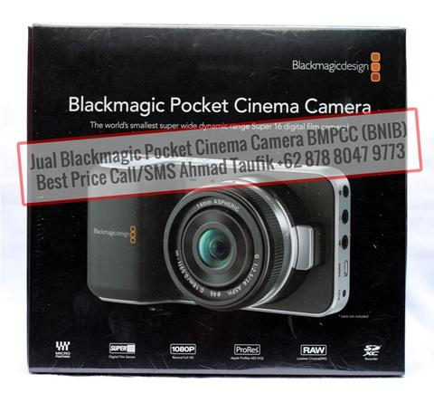 Jual Blackmagic Pocket Cinema Camera BMPCC