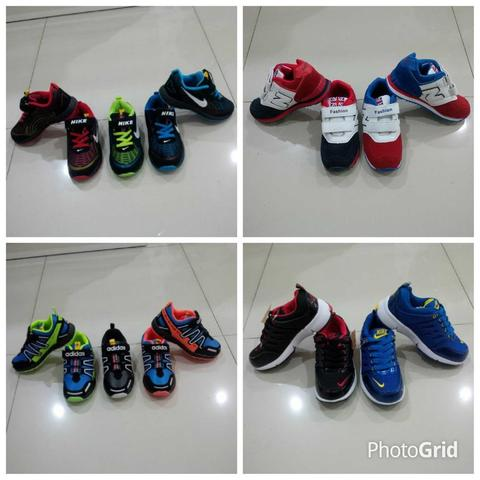 Kids Shoes Breanded (Nike Adidas New Balance)
