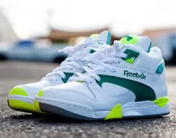 BNIB Reebok Court Victory Pump (White/Green/Citron) Size 42, Original, Rare Sneakers