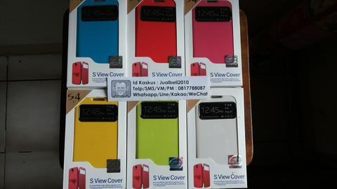 Flip Cover Original Samsung Galaxy Series Grand,S3,4,5,Zoom,Mega,Note1/2/3/4 dll