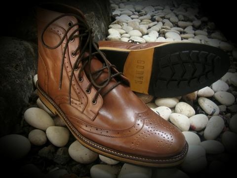 Gorye Leather Boots