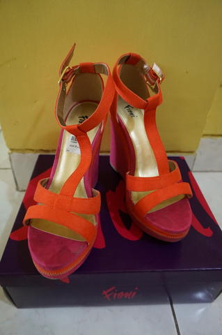 Wedges Fiona (payless) 10 cm, size 7 1/2