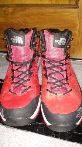 The North Face Havoc Mid GTX XCR hiking boot Red Size 42 BNOB Rare