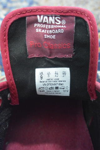 Vans Chukka Pro Red / Brick Red Shoes 11021721